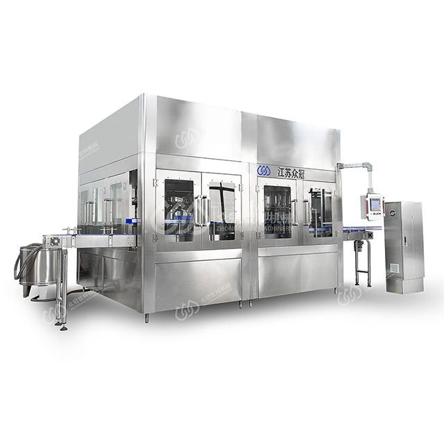 Automatic Rotary Type Plastic Barrel Washing Filling Capping Machine For 5 To 20 L