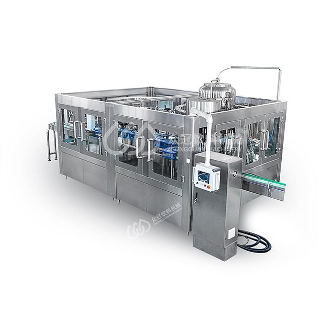 18000BPH Automatic PET Glass Bottle Water 3-in-1 Filler Machine Drinking Water Production Complete Line Price